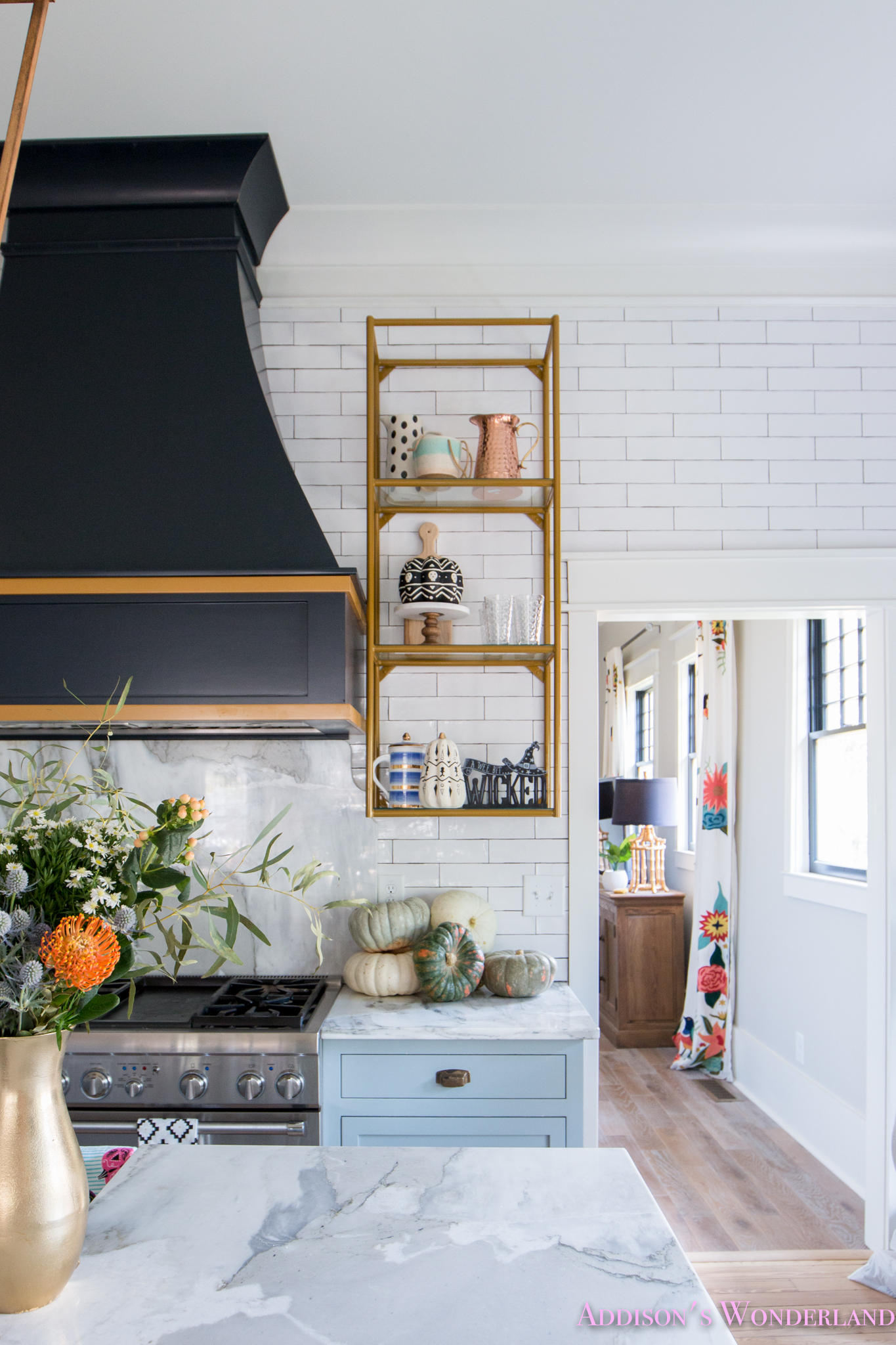 Our Quot Spooky Quot Halloween Kitchen With Fall Decorating Ideas