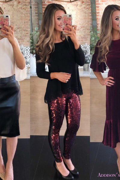 Amazon Affordable Fashion Finds- EIGHT Women's Holiday Outfit Ideas!