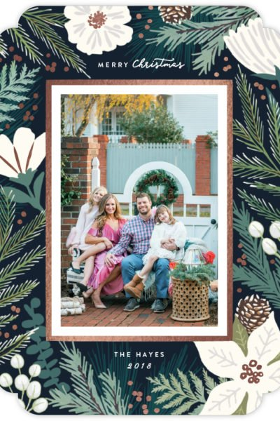 How I Created Our Christmas Cards with Minted!