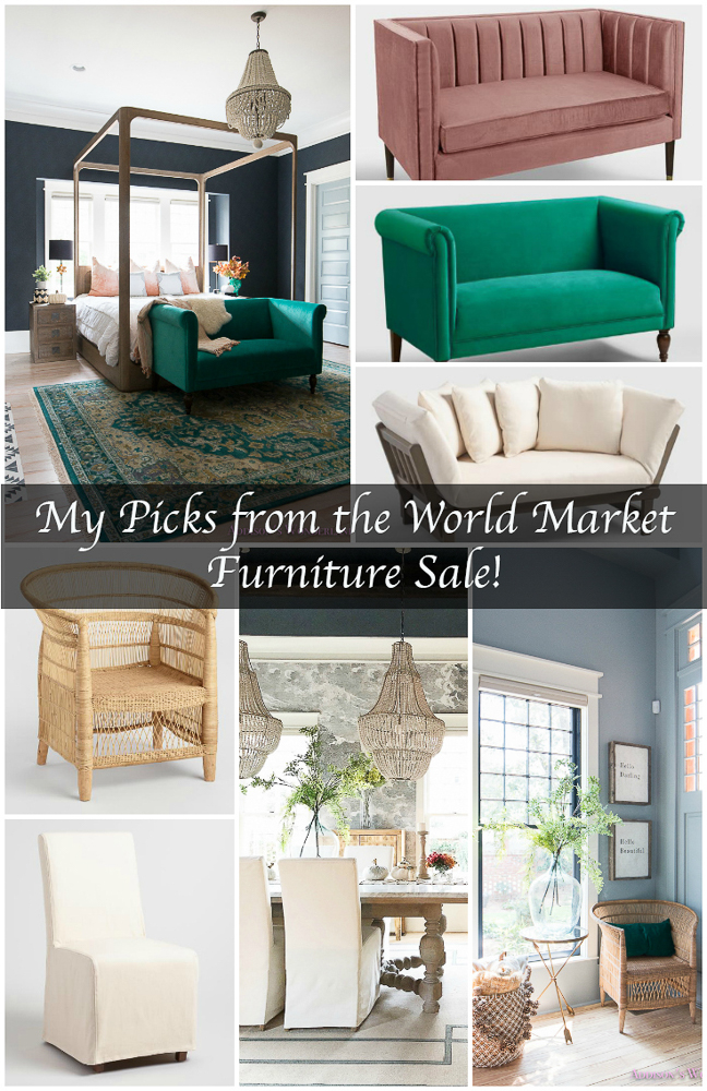 My Picks from The World Market Furniture Sale!