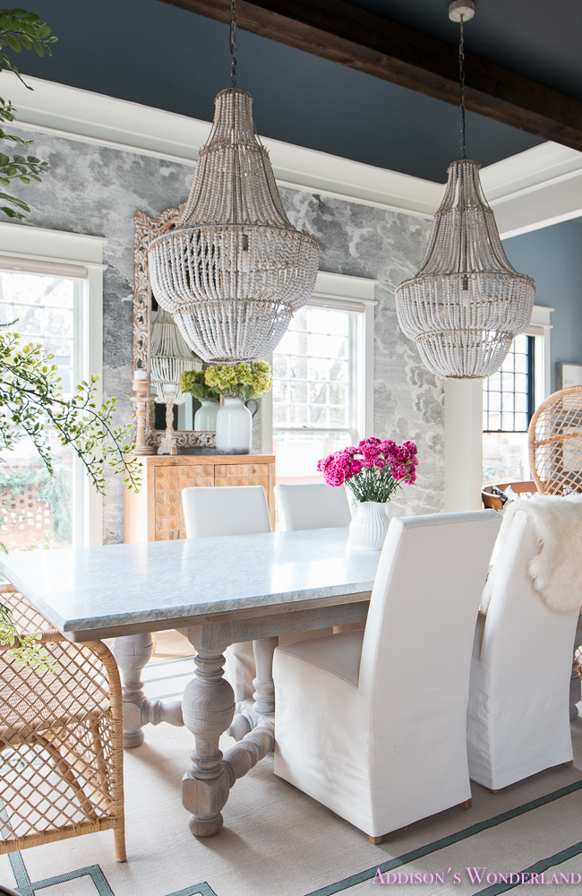 ... Elegant Fun Vintage Boho Dining Room Reveal ...