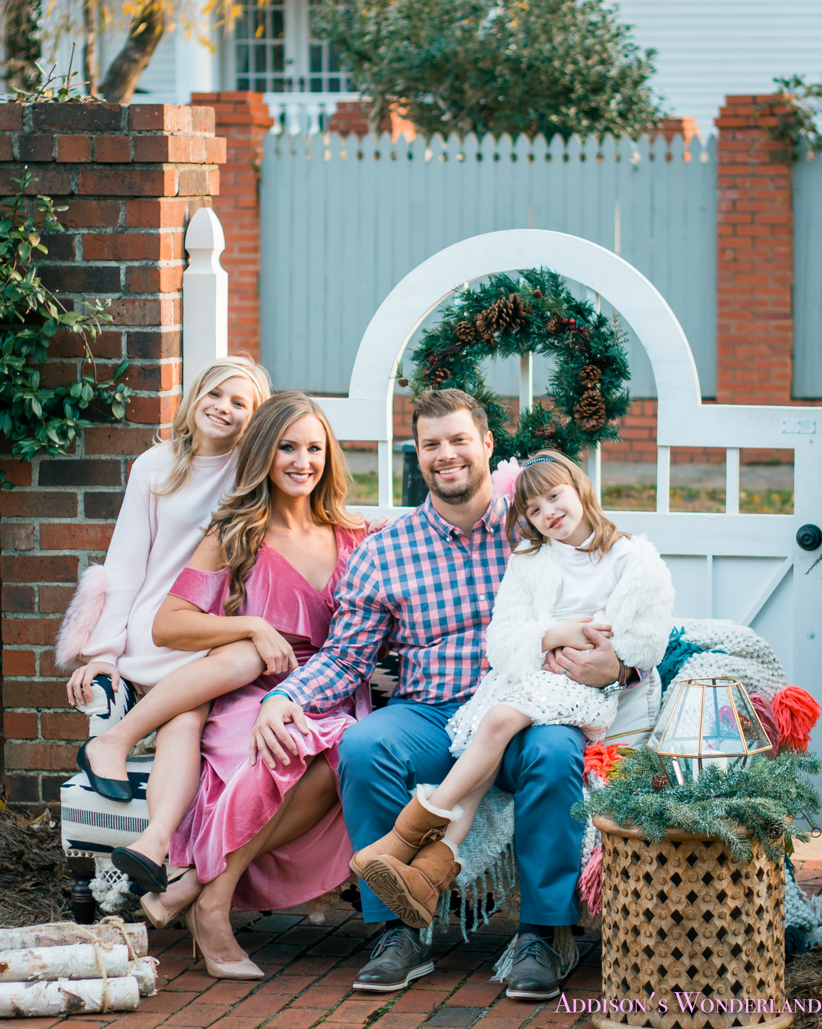 Huge Christmas Card.How I Created Our Christmas Cards With Minted Addison S Wonderland