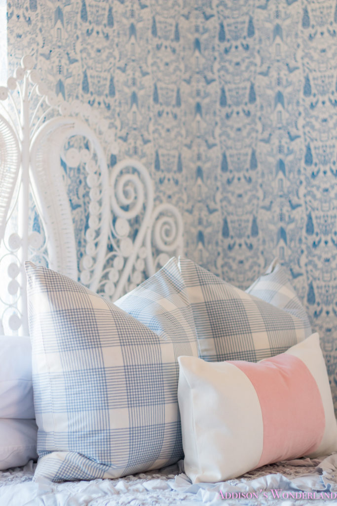 Our New Caitlin Wilson Pillows + Update on Winter\'s Blue & White ...