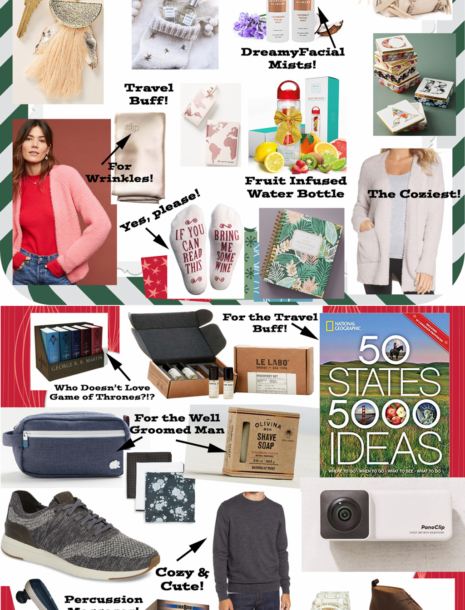 My Ultimate Holiday Gift Idea Guide for Men & Women!