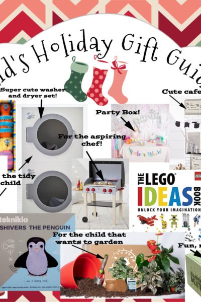 My Ultimate Holiday Gift Idea Guide for Kids & The Home!