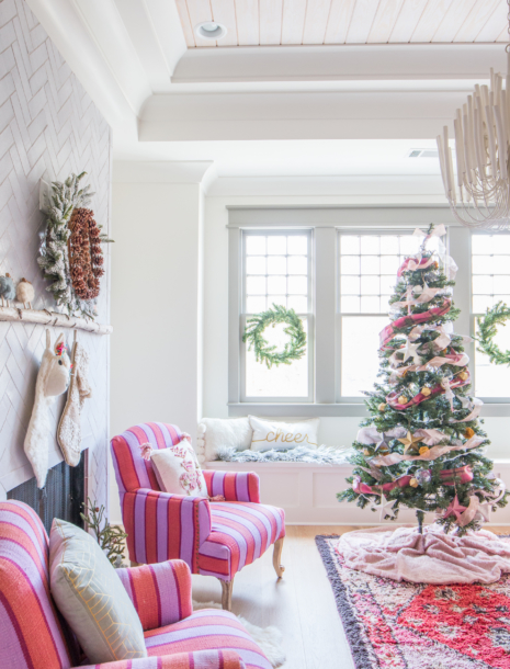 Our Festive & Colorful Christmas Holiday Kid's Playroom Tour!