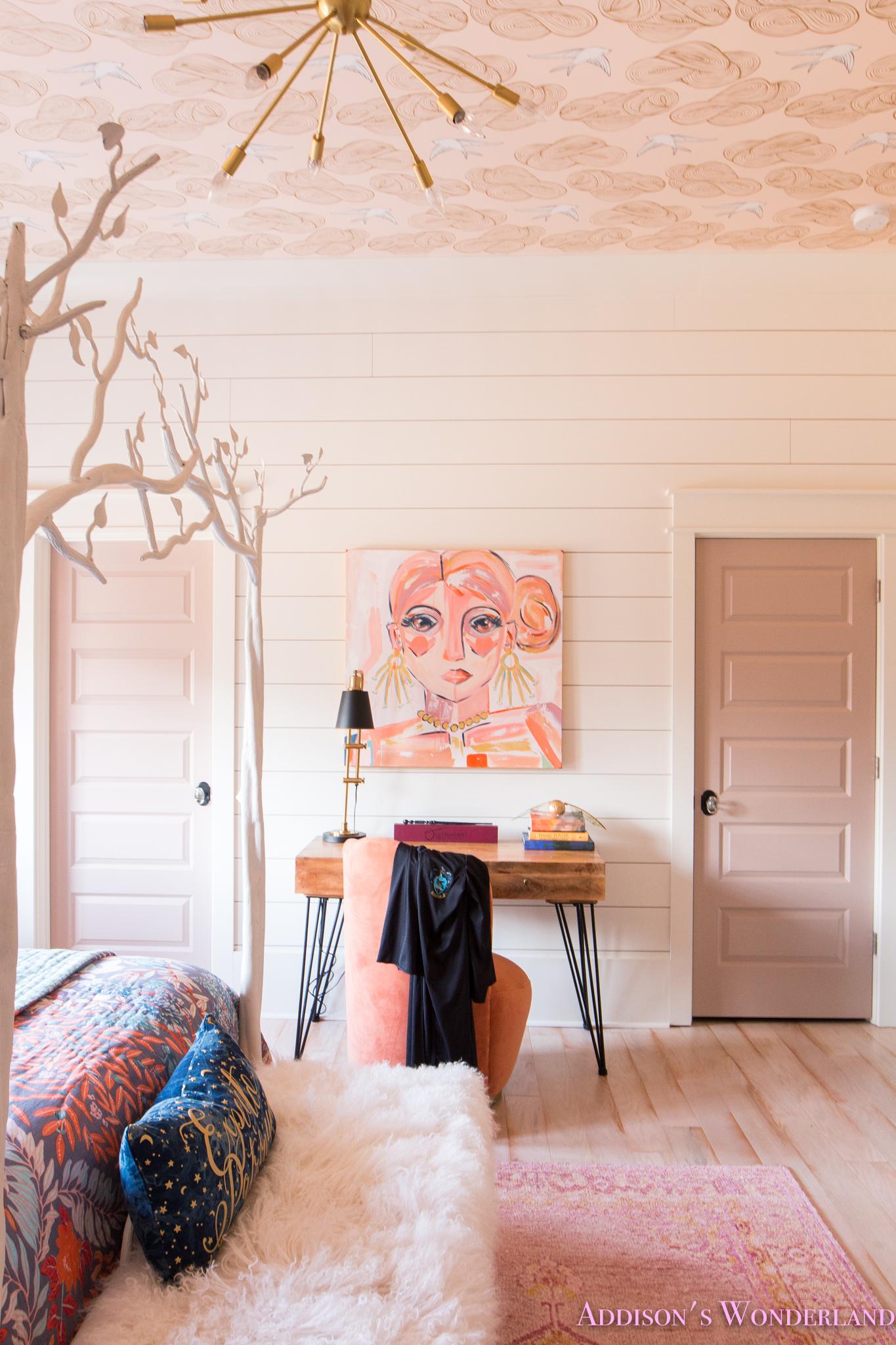 Beautiful Chandelier Bedroom Decor