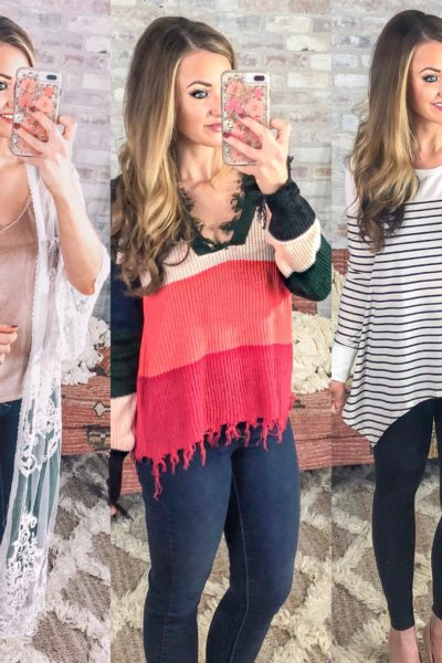 My Fun & Colorful February Amazon Haul- Women's Tops UNDER $25!
