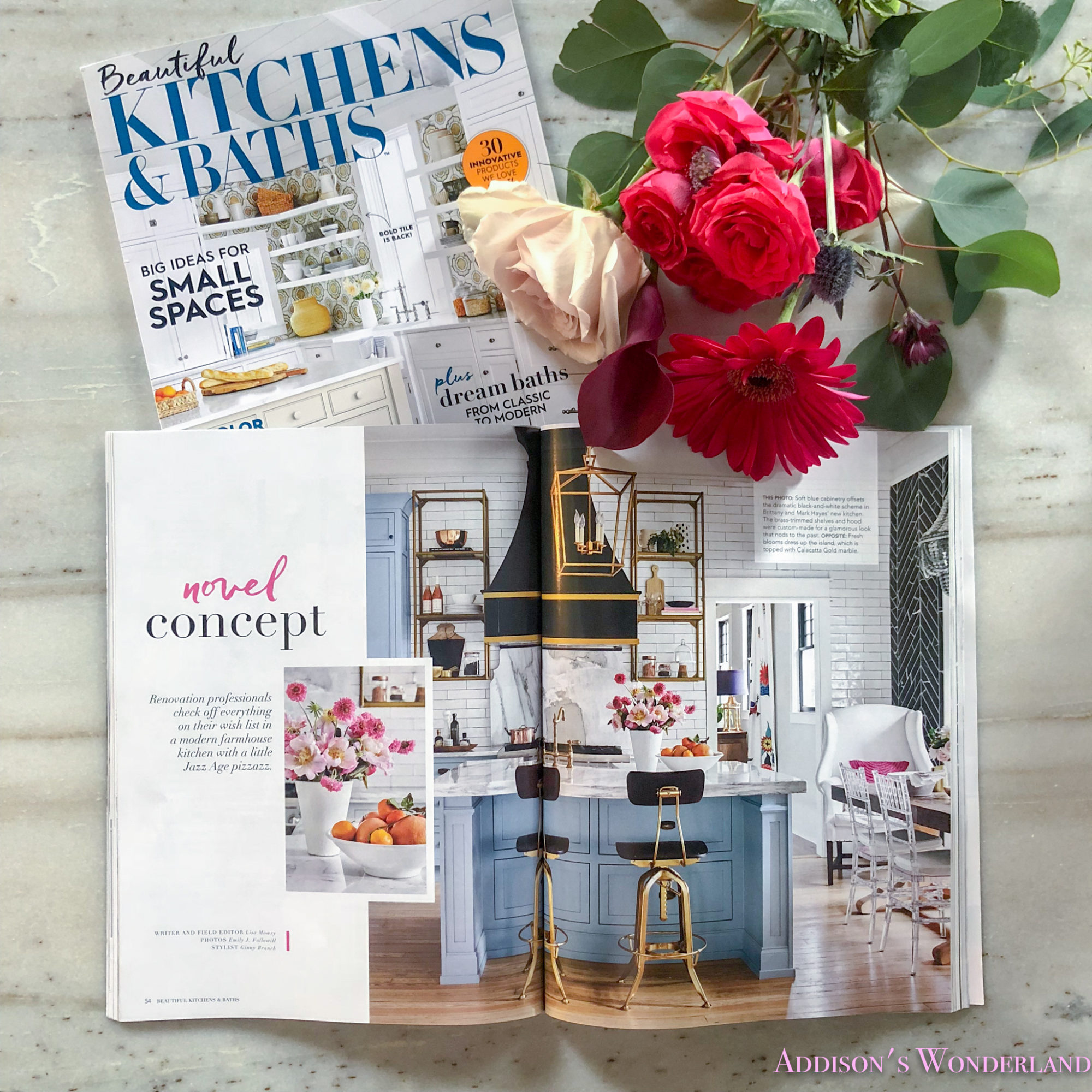 Our Kitchen Feature in Beautiful Kitchens & Baths Magazine…