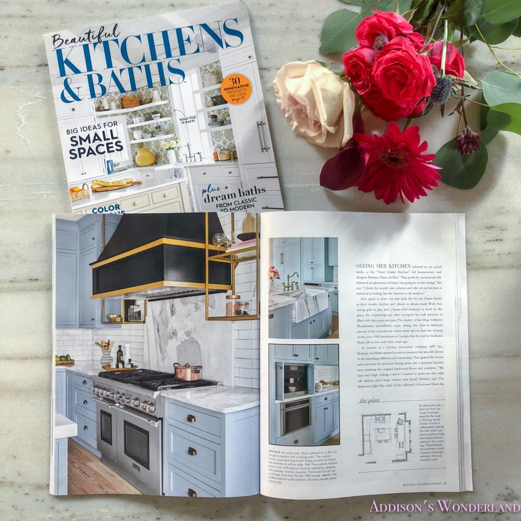 Kitchens Baths: Our Kitchen Feature In Beautiful Kitchens & Baths Magazine