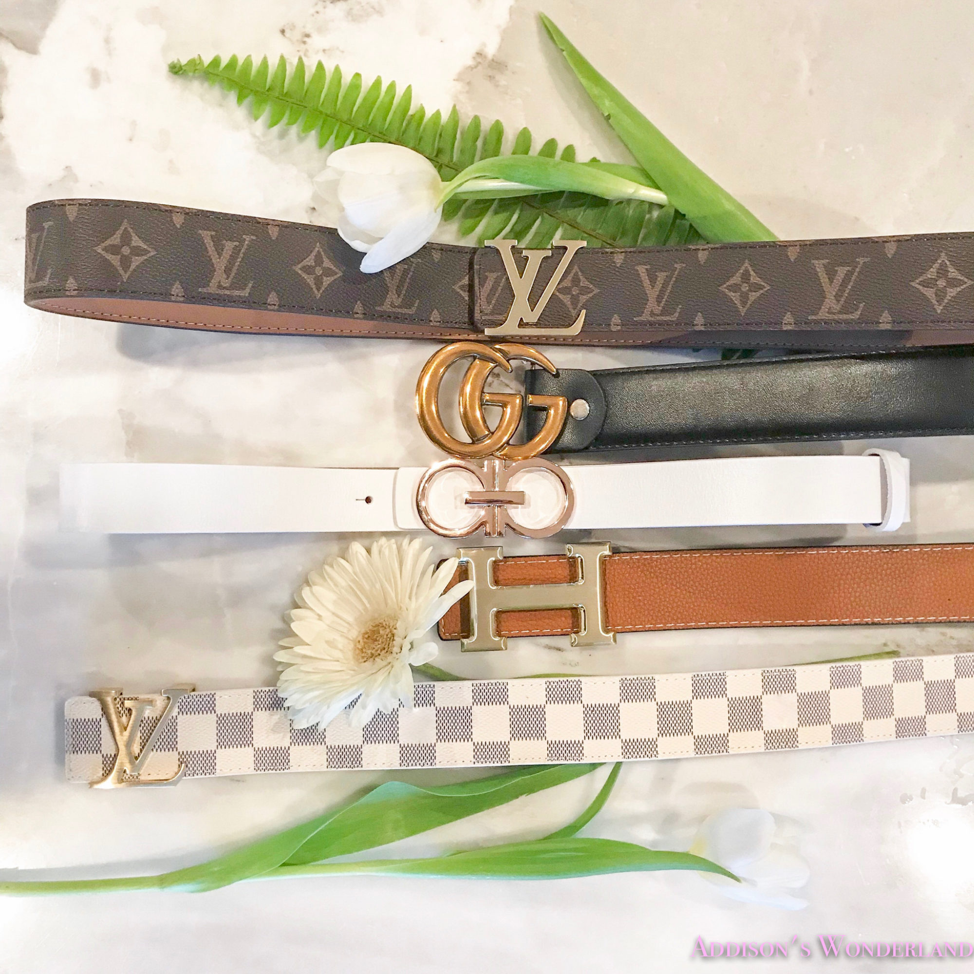 Five of the BEST Designer Dupe Belts on Amazon all UNDER $25!