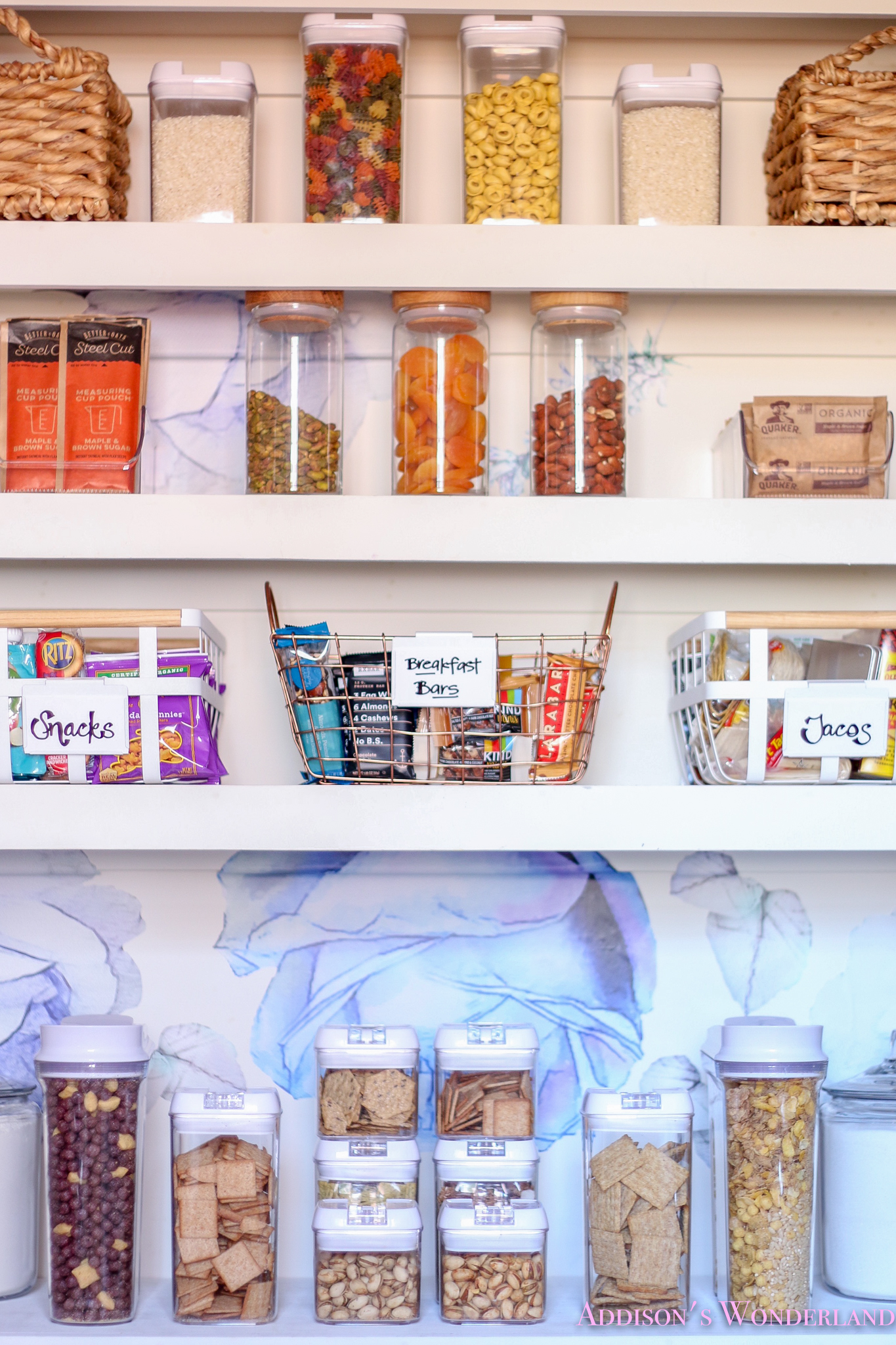 Pantry Organization Ideas from Our Colorful New Pantry!