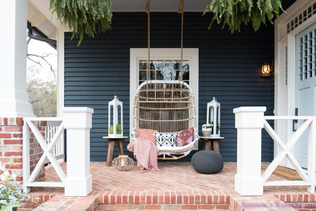 Our Fun Amp Colorful Bohemian Spring Porch Update Reveal