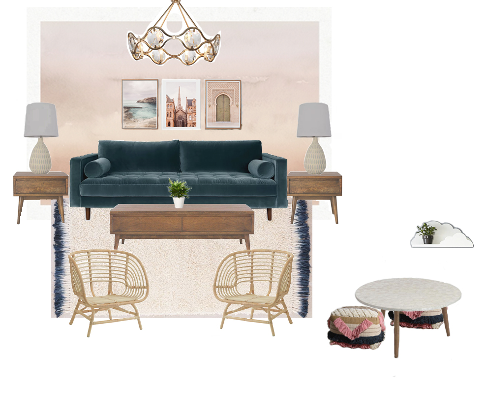 "A Living Room Design Update Inside the ""Make It Home"" Invitation Homes Show House!"