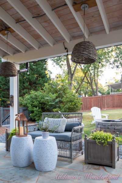 A Huge Back Patio Refresh & Reveal for Fall with Walmart…