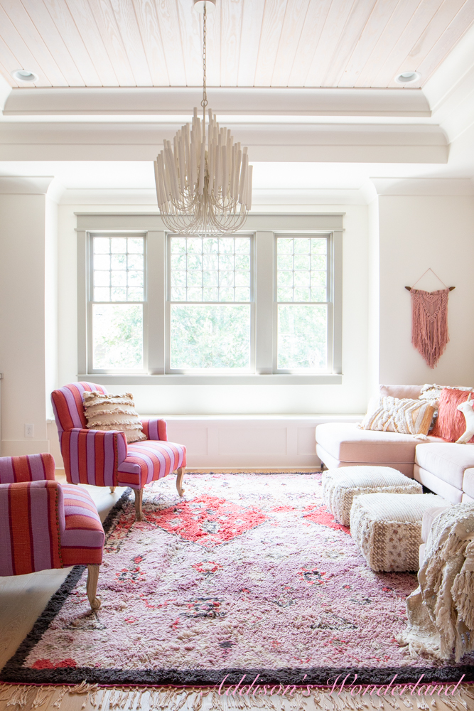 Styling Up Our Playroom With World Market Throw Pillows
