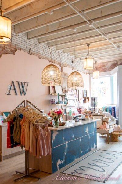 The FULL TOUR Inside Addison's Wonderland Boutique!