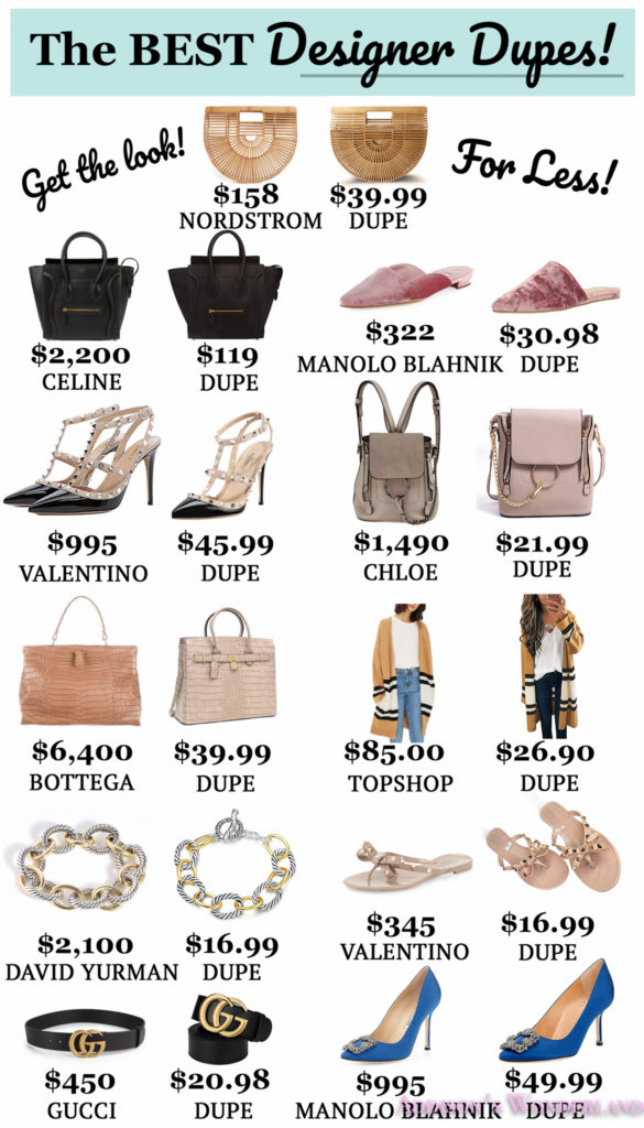 7ff8aec21b013 The Eleven BEST Designer Dupes on Amazon Fashion!