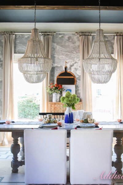 A Dining Room Refresh with Touches of Fall…