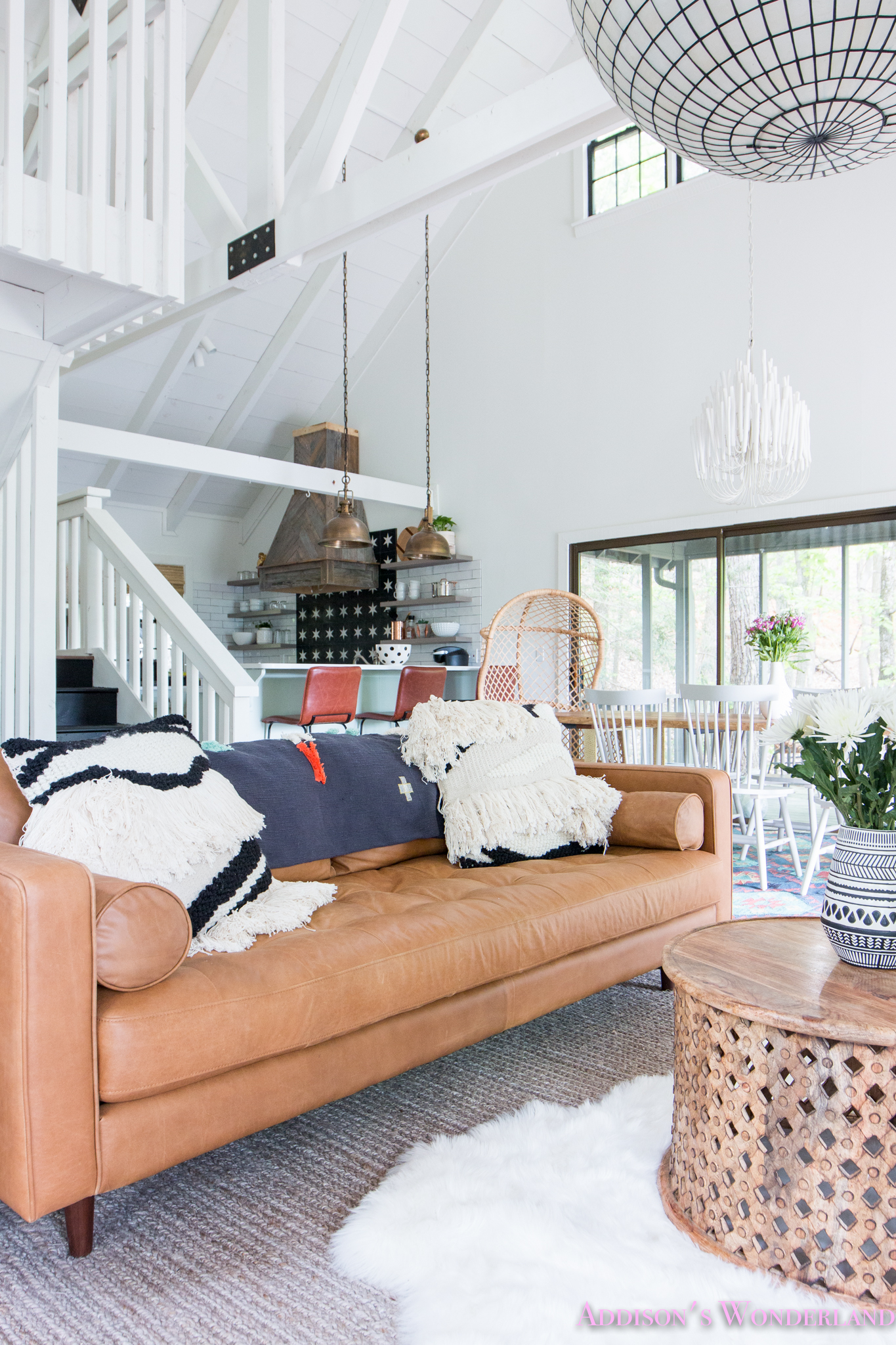 Our Crazy Beautiful New Sven Charme Tan Sofa from Article...