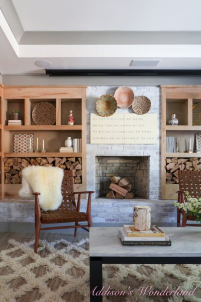 "Creating a Rustic, Neutral Little ""Getaway"" Space with Universal Furniture…"