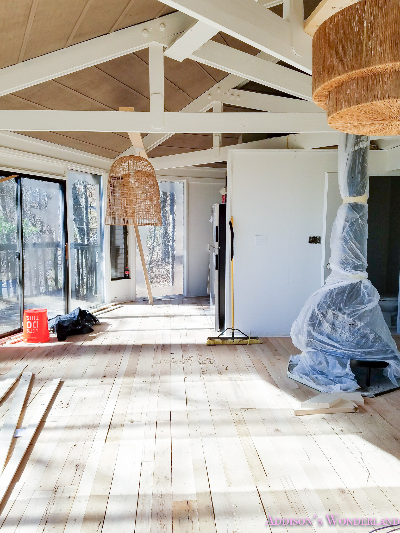Renovation Update on Our Treehouse Wonderland…