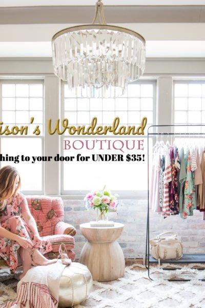 The Launch of Addison's Wonderland Boutique…