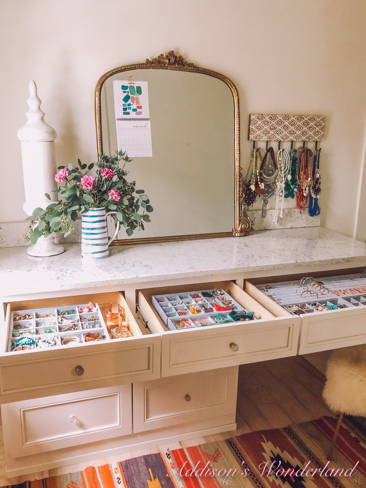 Jewelry Organization Ideas & The Cutest Affordable Earrings!
