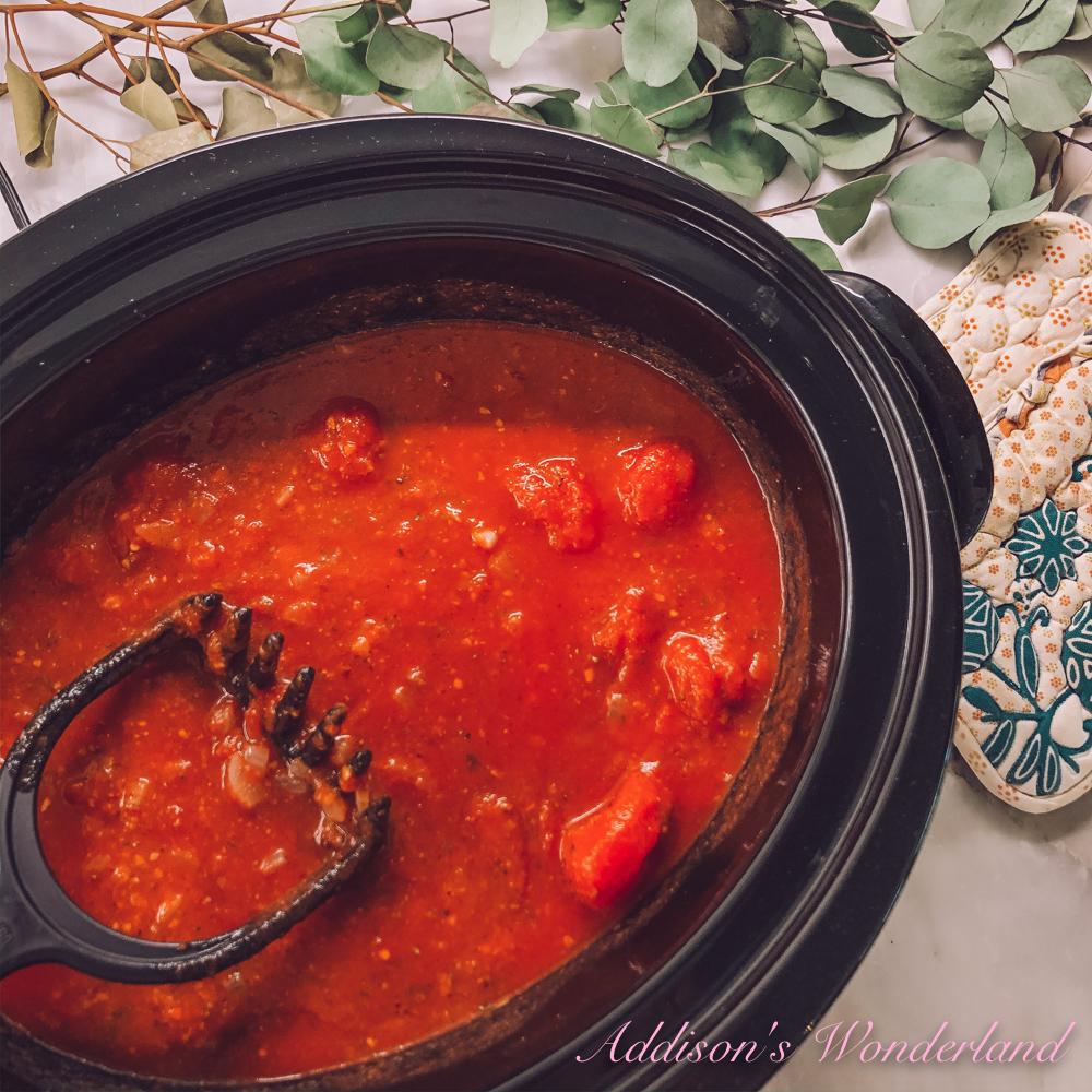 Homemade Spaghetti Sauce Recipe…