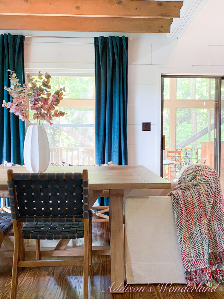 Modern Cabin Vibes in my Cabin Dining Room…